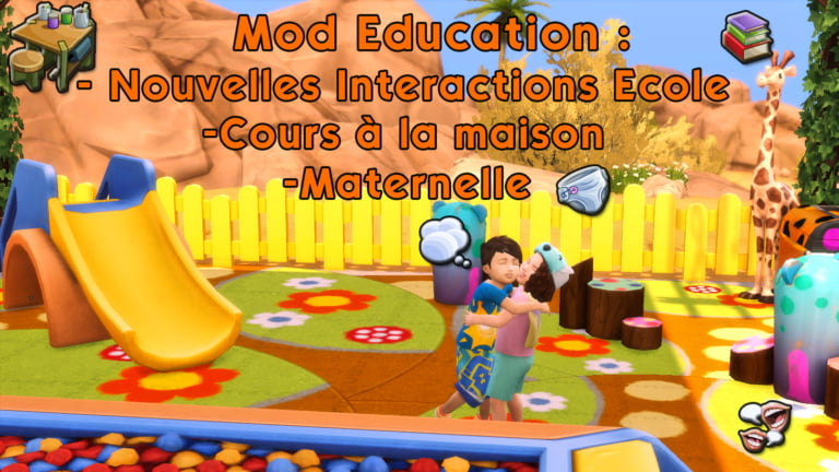 Mod Education System Sims 4