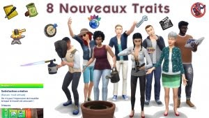 Traits_Sims4_hobbies_Kutto_français