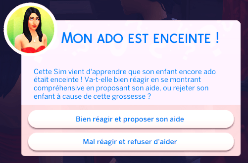 Question_acceptation_grossesse_ado_Sims4
