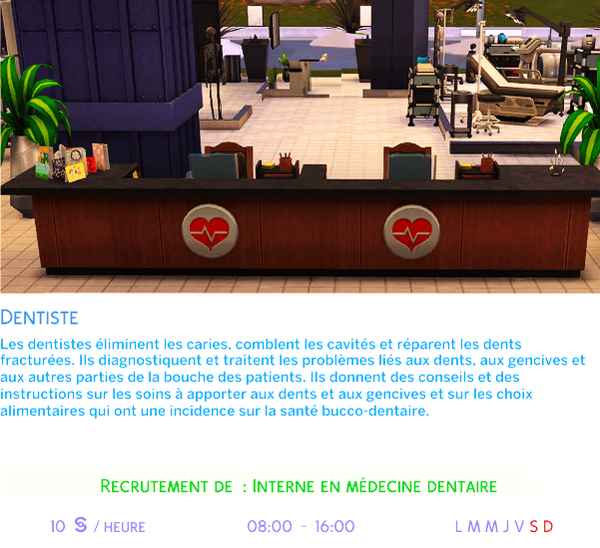 Carriere_dentiste_sims4